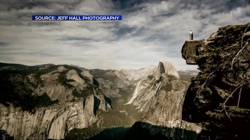Couple plunges to their deaths from Yosemite cliff featured in viral
