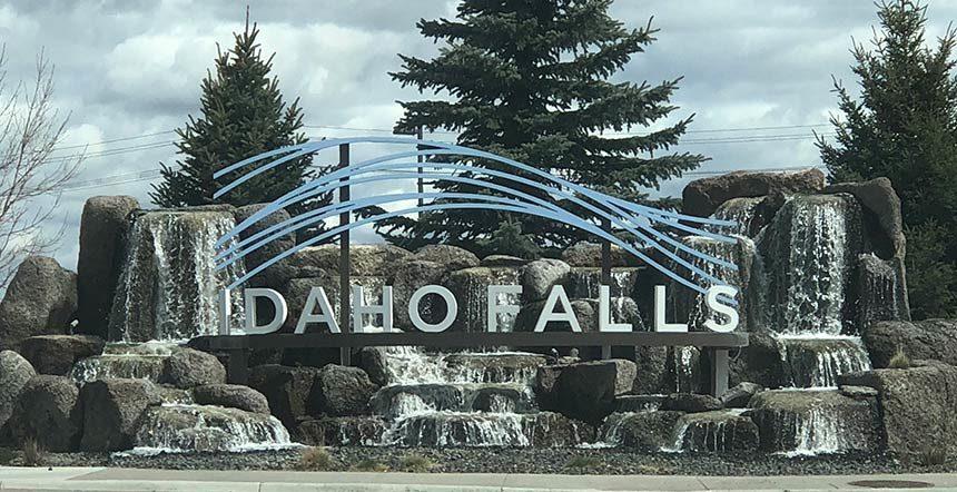 Idaho Falls sign