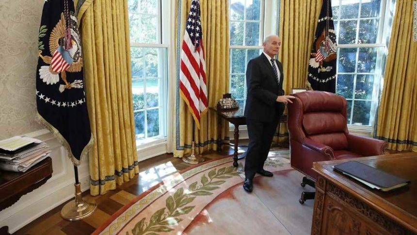 Trump announces John Kelly is leaving