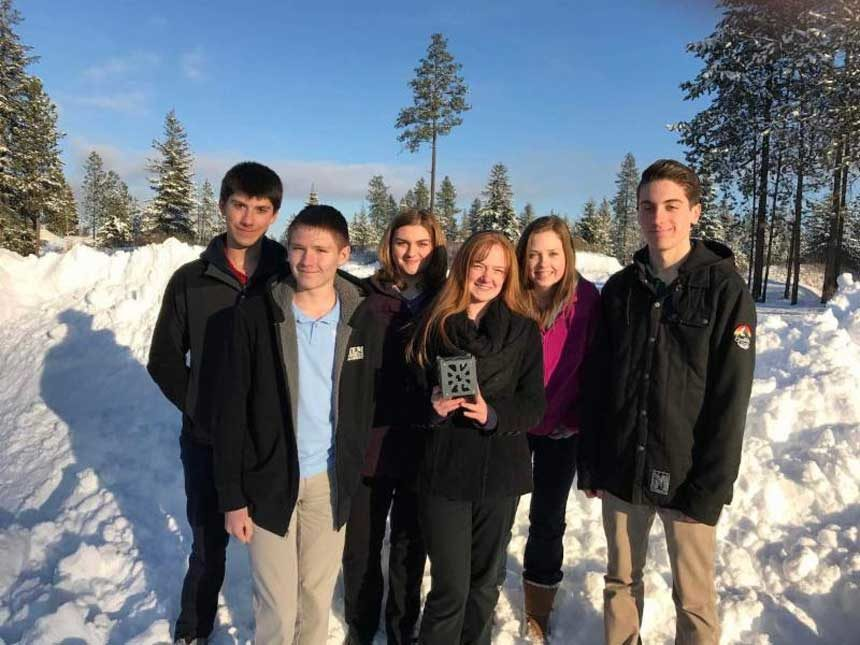 Idaho student inventors launch satellite into space | East Idaho News