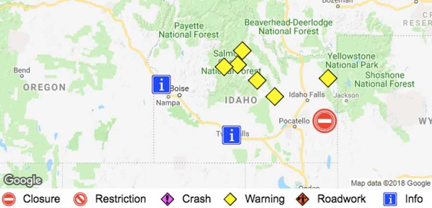 Update Highway Reopens Near Lava Hot Springs East Idaho News