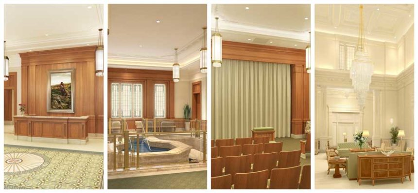 Gallery Lds Church Releases Images For Temple S Interior