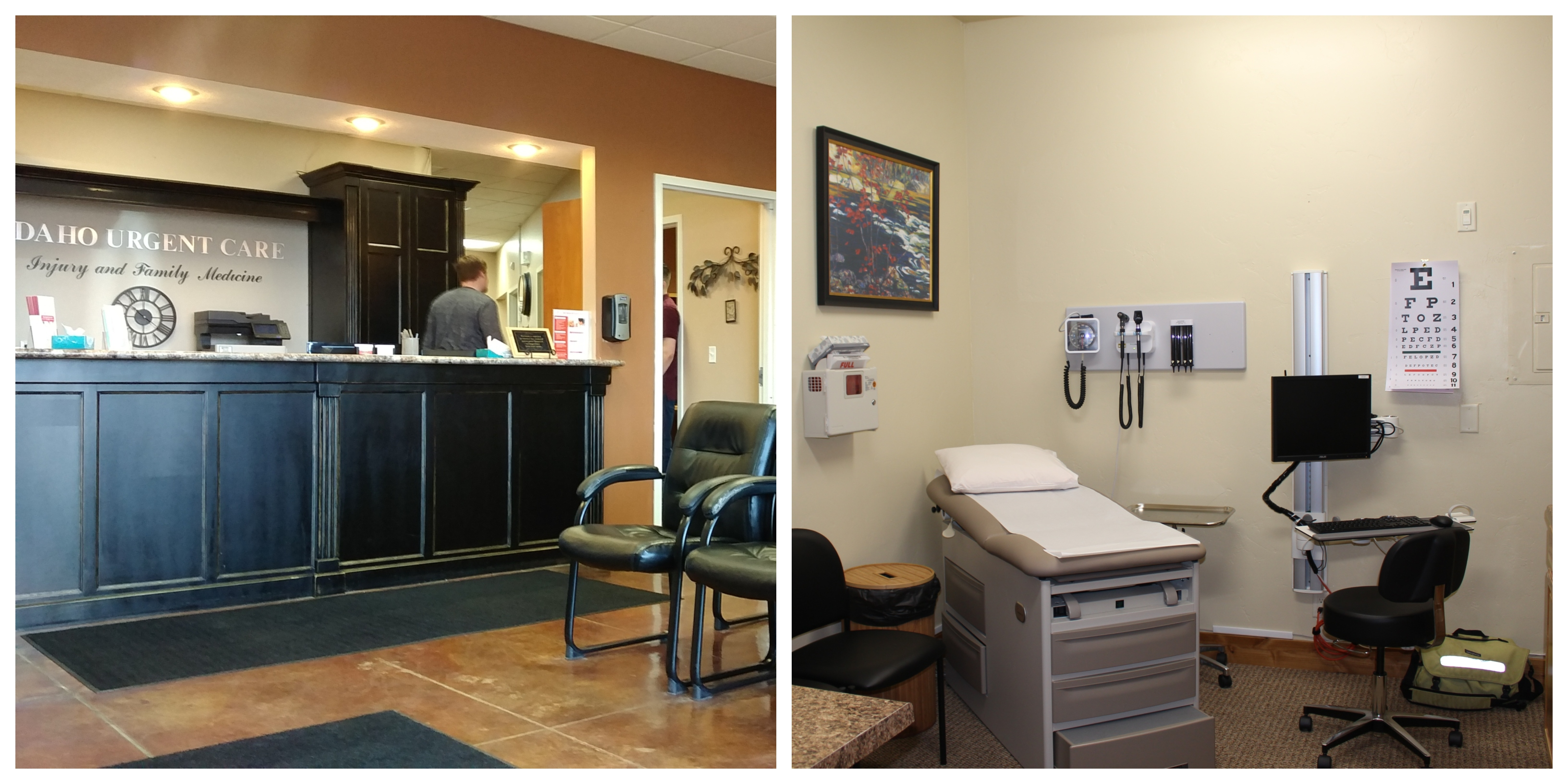 Two local health clinics providing innovative cost-savings