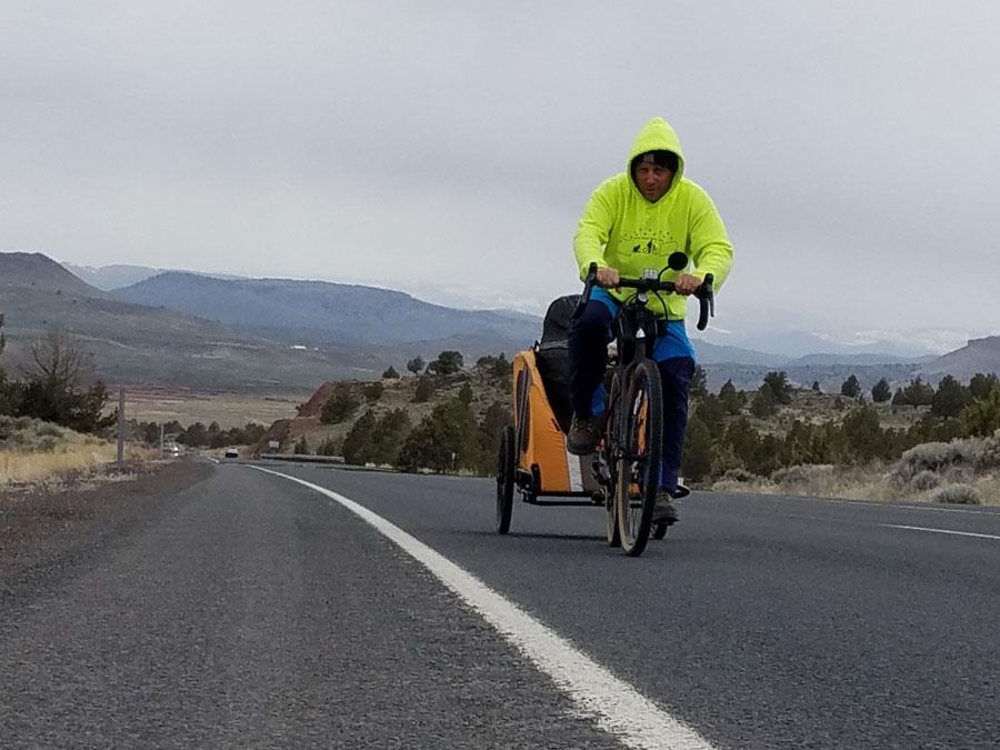 Man biking across America makes a stop in Idaho Falls   East