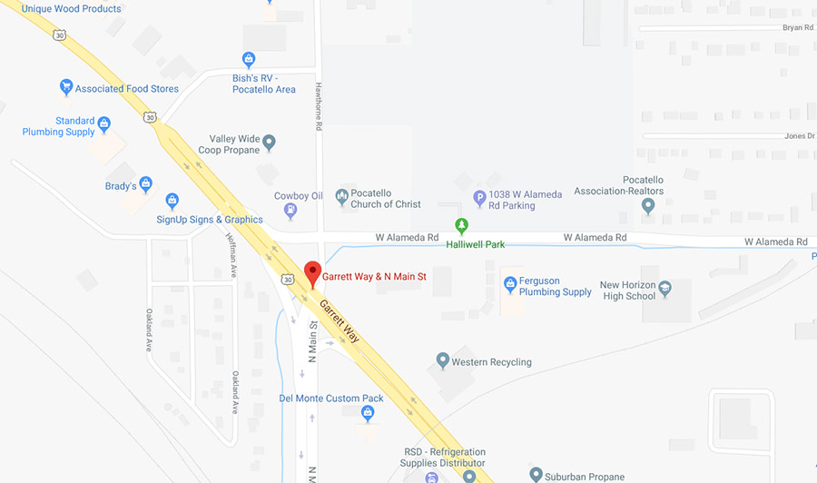 Pocatello Road Briefly Blocked After Excavator On Trailer