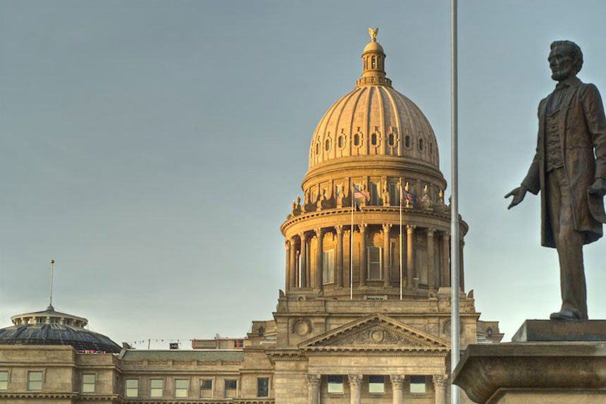 Idaho state capitol by Ken Wilcox