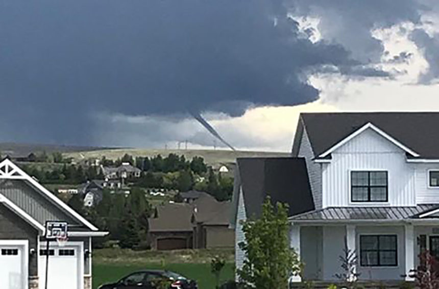 GALLERY: User submitted photos of funnel cloud   East Idaho News