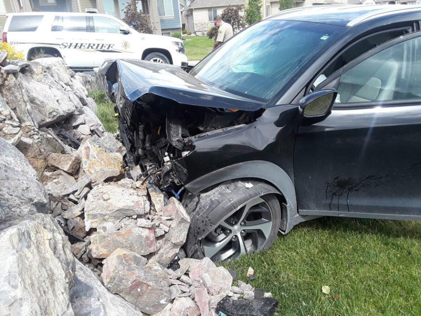 Image result for Baby delivered safely after mother blacks out, crashes vehicle