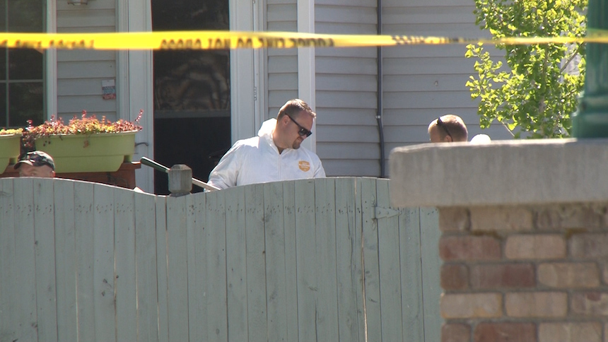 It's a disturbing scene ' Man stabbed girlfriend and 2 dogs