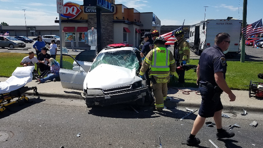 The mother of 2 children involved in this horrific crash