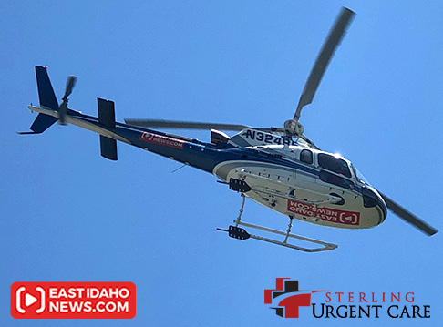 Ride on our helicopter Aug. 3 in Ammon!