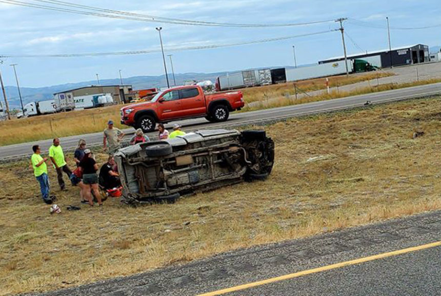 Man transported to EIRMC after rollover crash outside Idaho