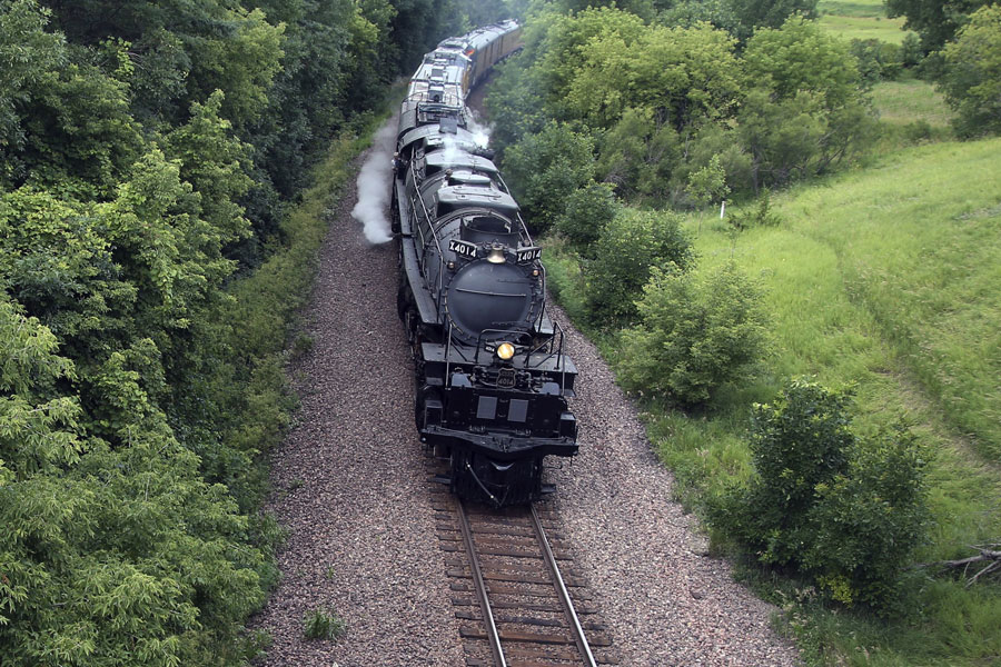 After nearly 60 years off the tracks, the world's largest