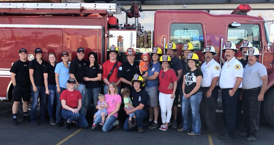 group photo firehouse subs central fire