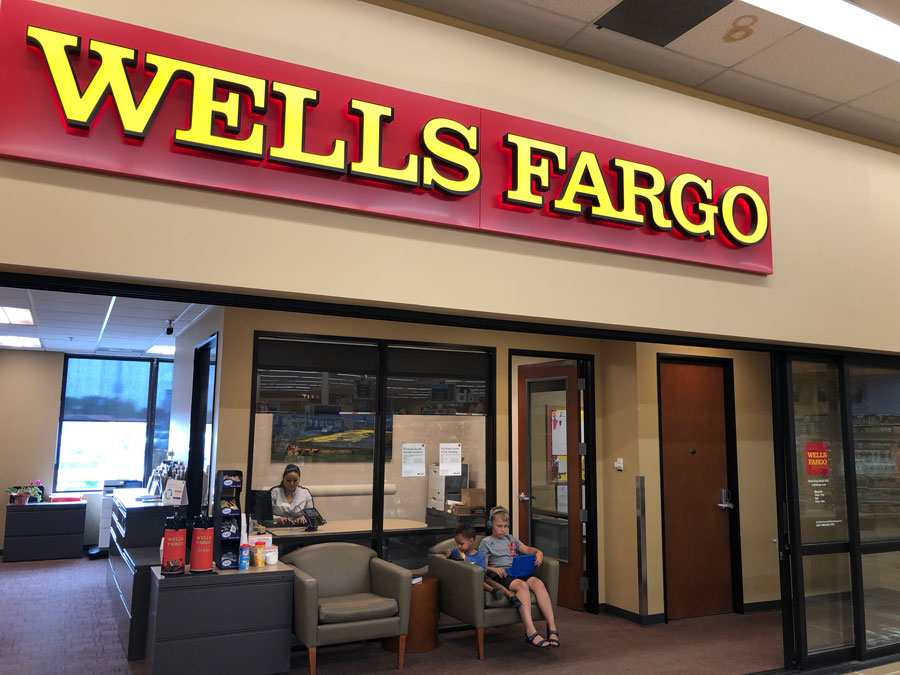 what is my bank branch wells fargo