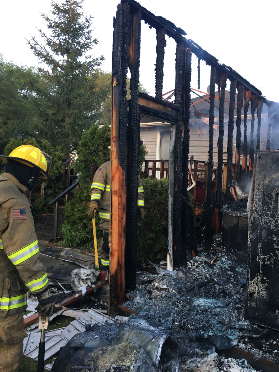 Rigby home severely damaged in early morning fire | East Idaho News