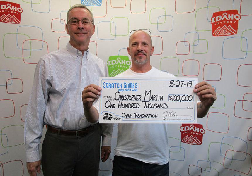 Pocatello trucker wins $100,000 from scratch ticket   East