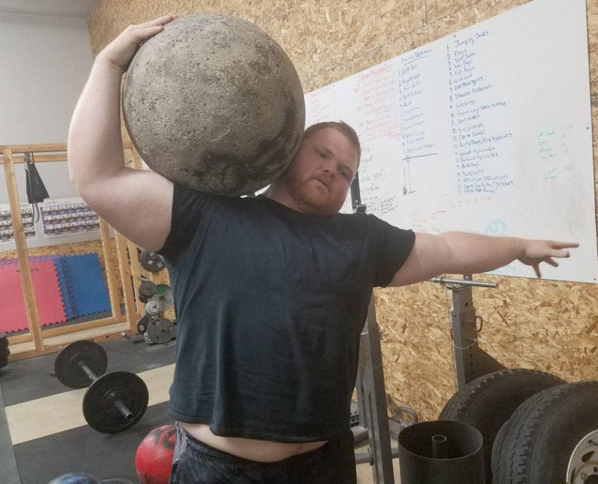 Local athletes test their strength at new strongman club
