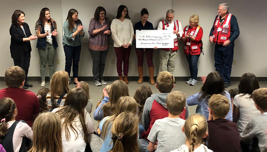 Students Lend A Hand By Donating To Disaster Victims