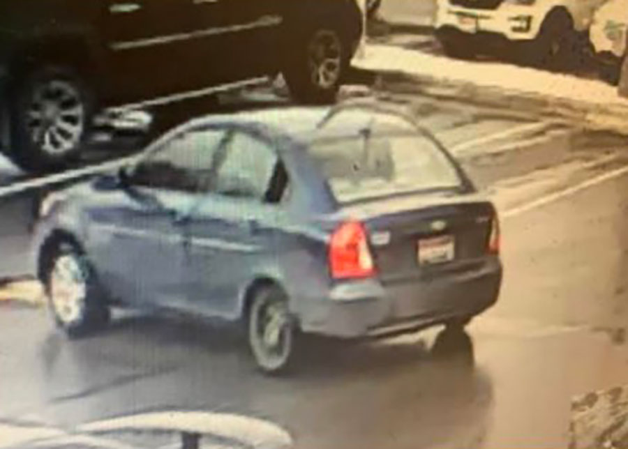 Suspects car