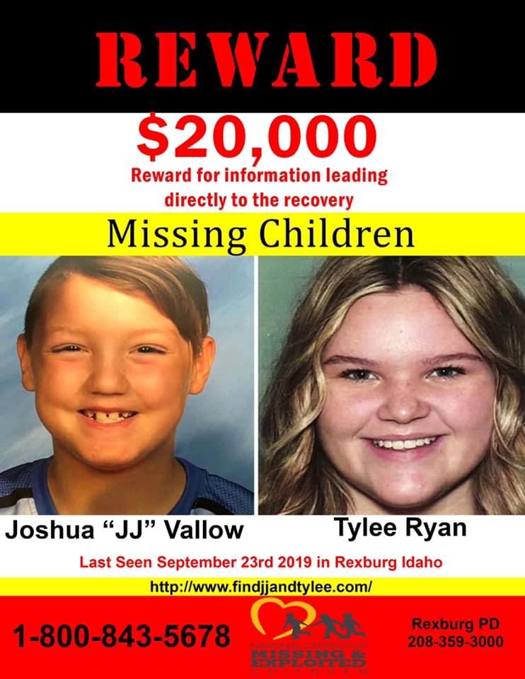 missing Tylee JJ poster