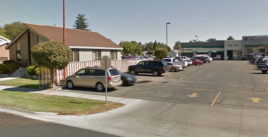 broulims parking lot