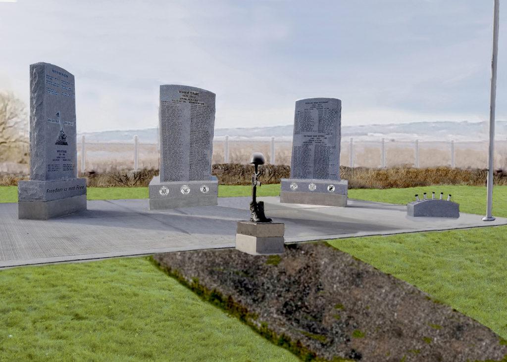 Community Raising Funds To Build Veterans Memorial At Teton Newdale Cemetery East Idaho News