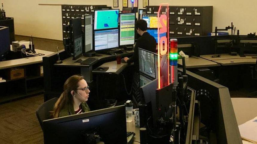 Dispatch center Patrick Orr