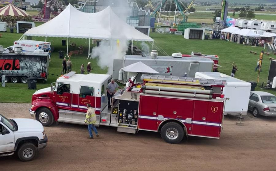 3 people injured in Wyoming food truck explosion