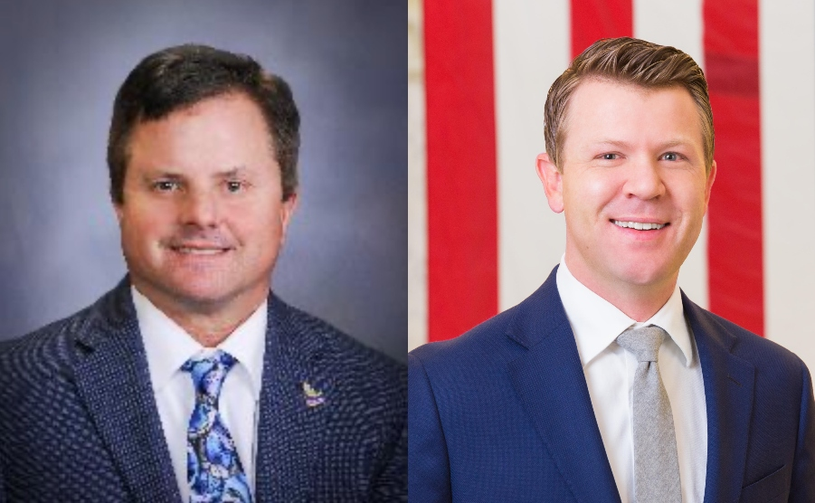 Democrat Chris Abernathy and Republican Dustin Whitney race for State Legislative seat - East Idaho News