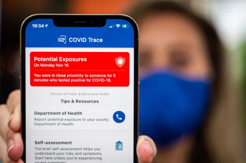covid phone alerts