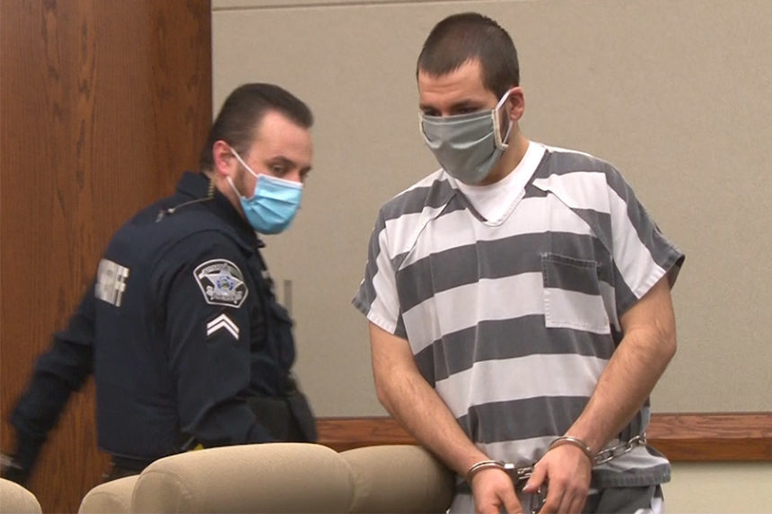 Jesse Gentle in court