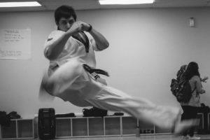 Brett Starks, Taekwondo