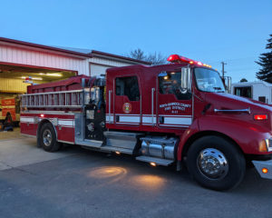 North Bannock Fire Department engine. March, 3, 2021