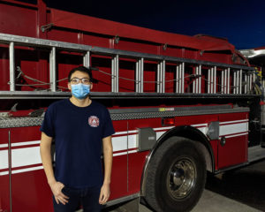 Jorge Santos, North Bannock firefighter--March 3, 2021