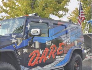 D.A.R.E truck