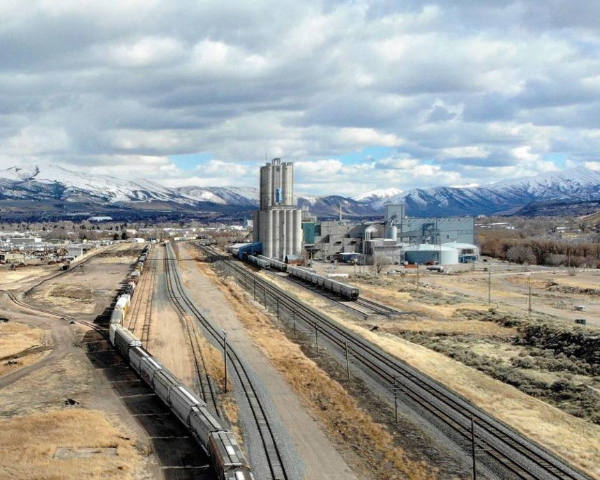 Savage Intermodal Rail Terminal; Pocatello. Pre-construction