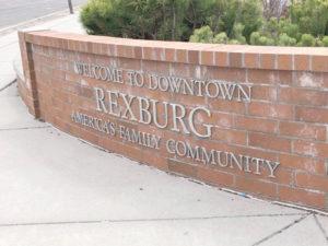 Rexburg Sign at S 2nd E