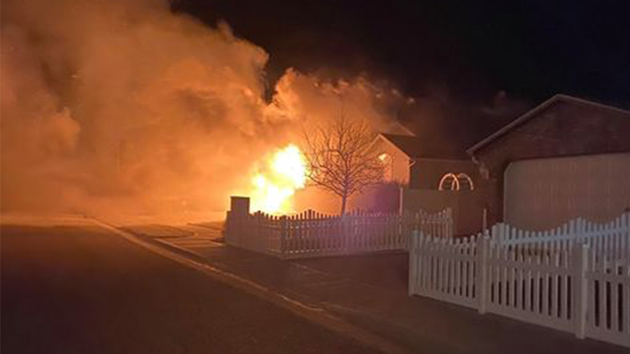 Home a complete loss after fire in Idaho Falls - East Idaho News