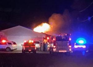 McCammon fire; April 18, 2021