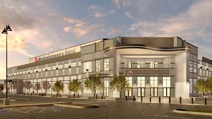Mountain America Center rendering