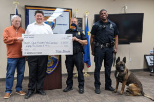 Phil Meador, Jason Meador, PPD Chief Roger Schei, PPD officer Akilah Lacey, Thor