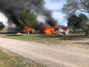Fort Hall fire: May 17, 2021
