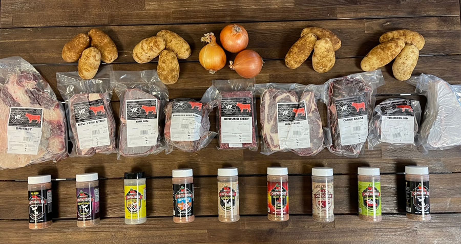 meat and potatoes products