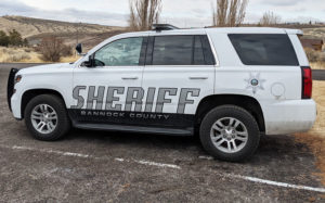 Bannock County Sheriff's Office cruiser