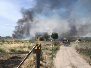 Fort Hall fire; May 31, 2021