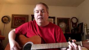 John Hinckley Jr. plays guitar