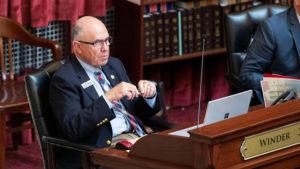 Senate President Pro Tem Chuck Winder