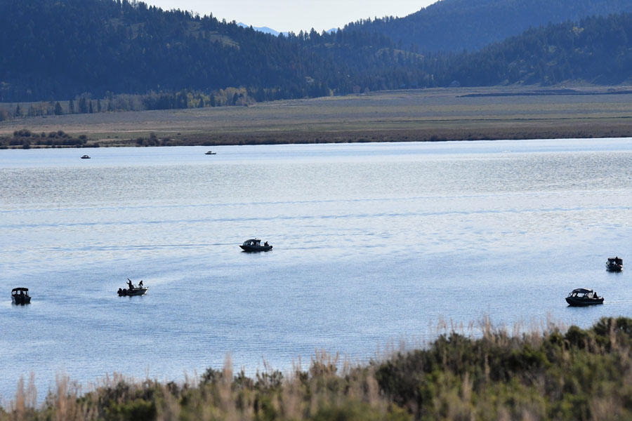 boats henrys lake