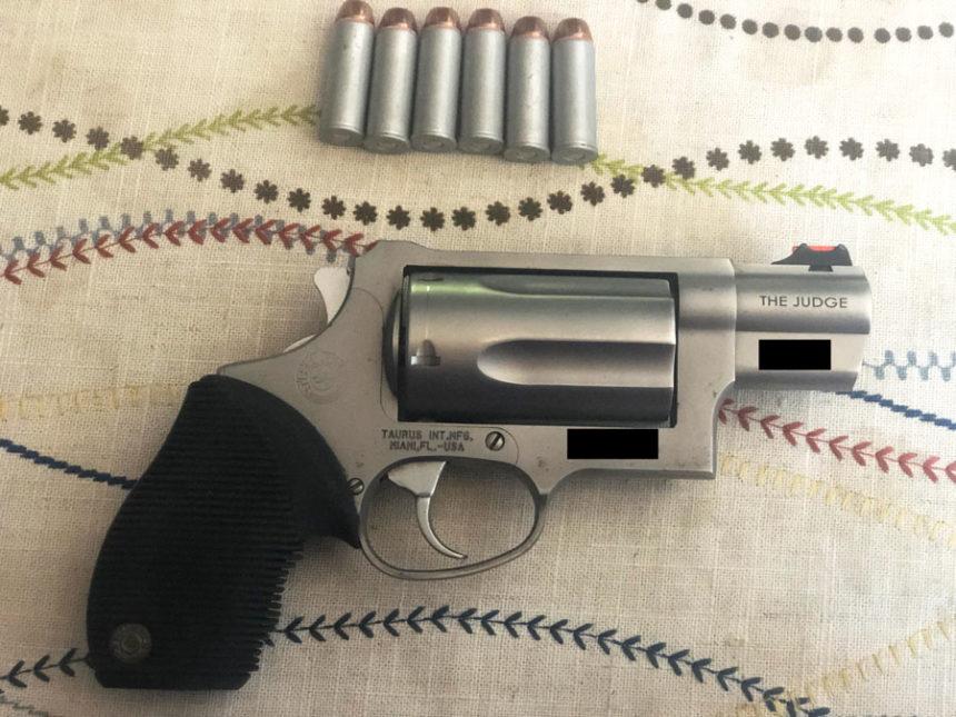 Taurus Judge; shotgun pistol